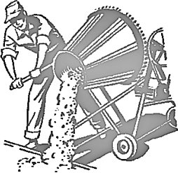 Free cement mixer clipart free clipart graphics images for White cement art