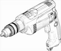 electric-drill-BW