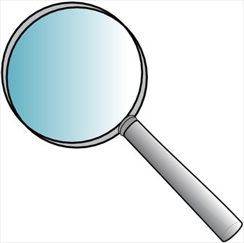 Image result for magnifying glass clipart