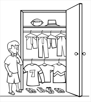 Free closet-clothes-decide Clipart - Free Clipart Graphics, Images ...