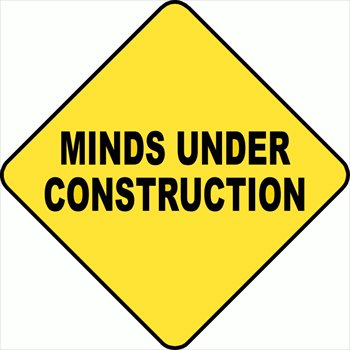 Free Minds Under Construction Clipart