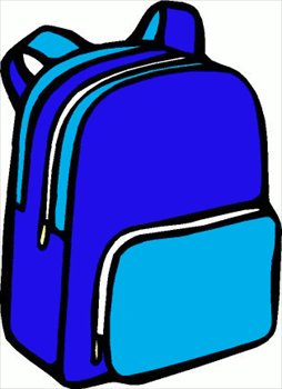 Clip Art Clipart Backpack free backpacks clipart graphics images and photos backpack 01