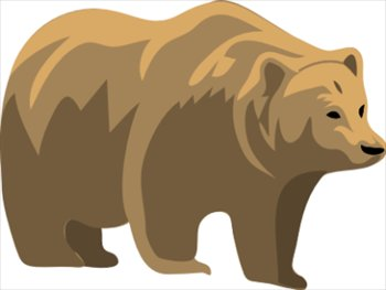 Clip Art Bears Clipart free bears clipart graphics images and photos bear 1
