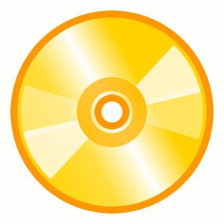 Free cd-gold Clipart - Free Clipart Graphics, Images and Photos ...