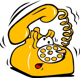 Free telephone cartoon clipart free clipart graphics images and