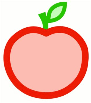 free apple color outline clipart free clipart graphics images and rh freeclipartnow com free apple clipart pictures free apple clipart borders