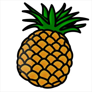 free pineapple clipart free clipart graphics images and photos rh freeclipartnow com pineapple clip art images free pineapple clipart cricut