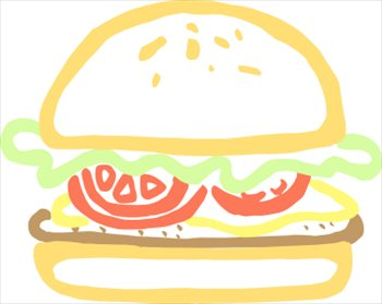 Image result for free clip art burger