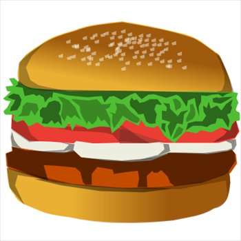 Free hamburger Clipart - Free Clipart Graphics, Images and Photos ...