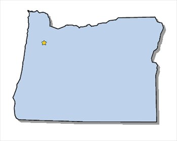 Free Oregon Map.Free Oregon Clipart Free Clipart Graphics Images And Photos