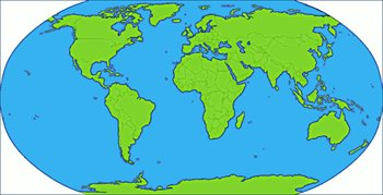 blue-green-world-map