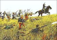 Rough-Riders-charging-up-Kettle-Hill-Mort-Kunstler
