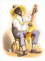 Stereotyping-plantation-banjo-player
