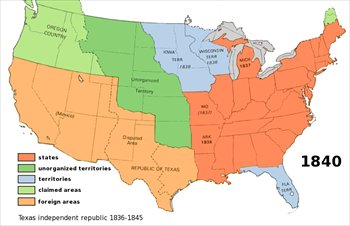 Map Of Us In 1840.Free Us Territory 1840 Clipart Free Clipart Graphics Images And