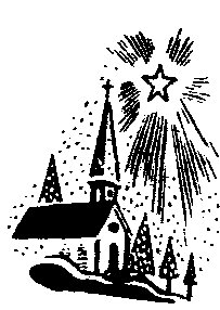 Free church-christmas Clipart - Free Clipart Graphics, Images and Photos. Public Domain Clipart.