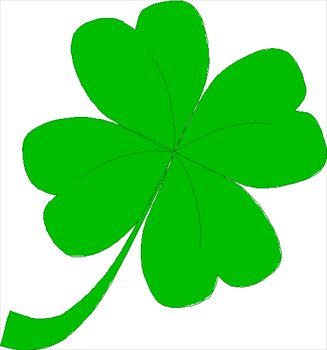 Free Four-Leaf-Clover-03 Clipart - Free Clipart Graphics, Images and ...