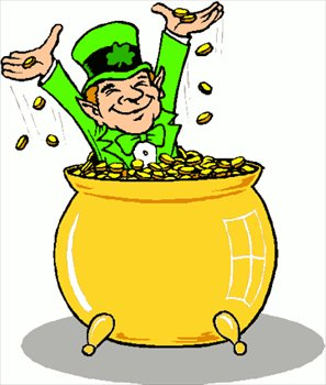 Image result for clip art leprechaun