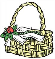 basket-with-flower