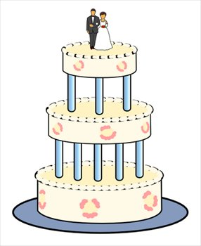 Free wedding-cake Clipart - Free Clipart Graphics, Images ...