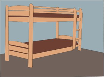 Make Up Bed Clipart