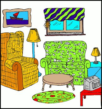 Free living room clipart free clipart graphics images for Living room clipart
