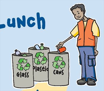 Clip Art Recycling Clipart free recycling and trash clipart graphics images recycle glass cans plastic