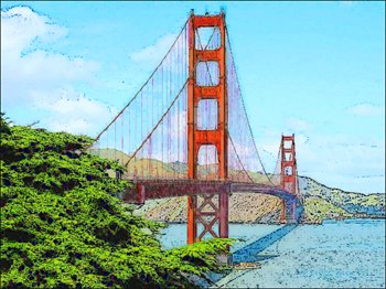 Golden Gate Bridge Drawing Clip Art golden-gate-bridge
