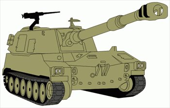 Clip Art Tank Clip Art free tanks clipart graphics images and photos m109a5