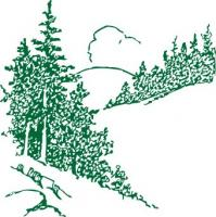 pines-monotone-green