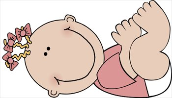 Clip Art Free Baby Clip Art free babies clipart graphics images and photos baby girl lying