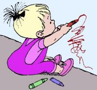 kid-drawing-on-wall