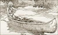 indian-in-canoe