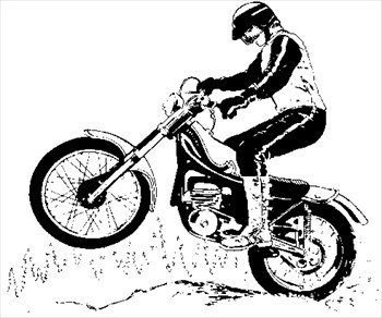 Bike Rodeo Coloring Pages