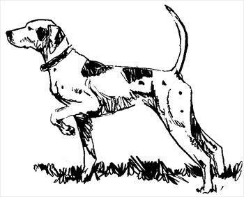 Free dog-point Clipart - Free Clipart Graphics, Images and Photos ...
