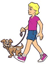 Free walk-dog Clipart - Free Clipart Graphics, Images and Photos ...
