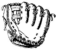 Clip Art Free Baseball Clipart free baseball clipart graphics images and photos glove bw