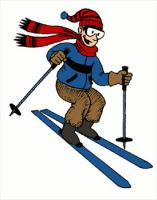 free skiing clipart free clipart graphics  images and sky clipart ski clip art images