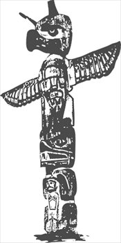 free totem pole clipart free clipart graphics images and photos rh freeclipartnow com totem pole clip art free native american totem pole clipart