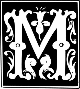 Free Decorative Letter M Clipart Free Clipart Graphics Images And