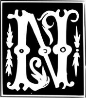 decorative-letter-N