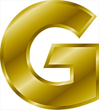 Free gold-letter-G Clipart - Free Clipart Graphics, Images and Photos ...
