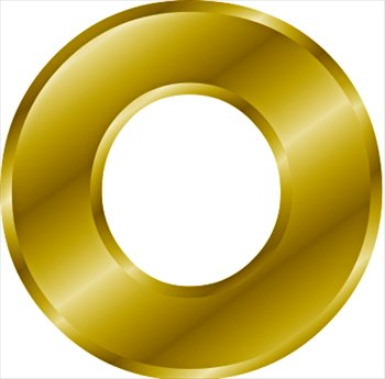 Free Gold Letter O Clipart Free Clipart Graphics Images
