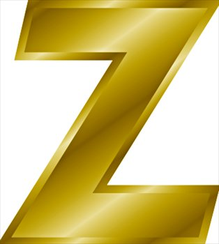Free gold-letter-Z Clipart - Free Clipart Graphics, Images and Photos ...