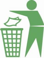 trashcan-dont-pollute-green