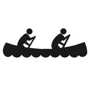 Free Canoeing Clipart