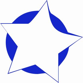 Clip Art Star Clipart Free free stars clipart graphics images and photos 5 point star w blue background