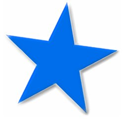 Clip Art Star Clip Art Free free stars clipart graphics images and photos basic 5 point blue star beveled