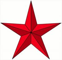 red-pointy-star