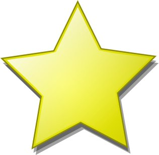 Clip Art Star Clipart Free free stars clipart graphics images and photos smooth star