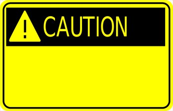 Clip Art Warning Clipart free warnings clipart graphics images and photos caution sign w exclamation